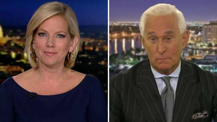 Did Roger Stone have dinner with WikiLeaks founder Julian Assange? The former Trump campaign adviser explains on 'Fox News @ Night with Shannon Bream.'