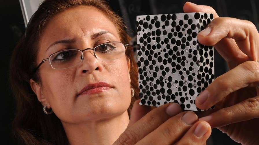 Defense Specialist Allison Barrie shares the inside scoop on breakthrough new foam that could provide better protection than Kevlar or tank armor, and is strong enough to pulverize armor piercing rounds.