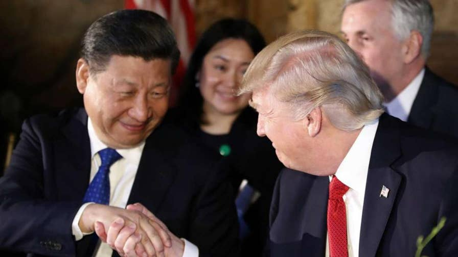 Trump threatens China with a $100 billion tariff plan, but is this a starting point for negotiations? Reaction on 'The Story with Martha MacCallum.'