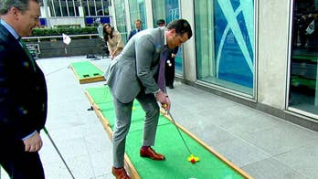 WOW Entertainment brings a mini golf course to the 'Fox & Friends' plaza.
