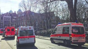 Police report multiple fatalities in Muenster, Germany after a vehicle drove into a crowd.