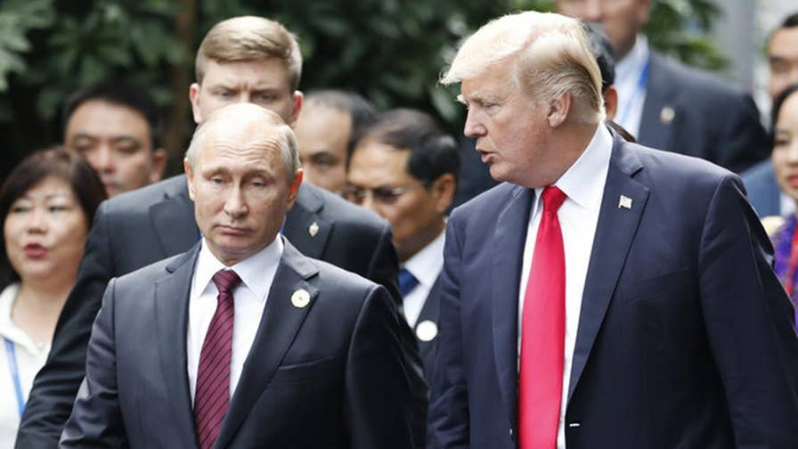 Stephen Cohen, professor of Russian studies at New York University, says on 'The Ingraham Angle' that the goal posts are always being moved when it comes to how tough Trump needs to be on Putin.