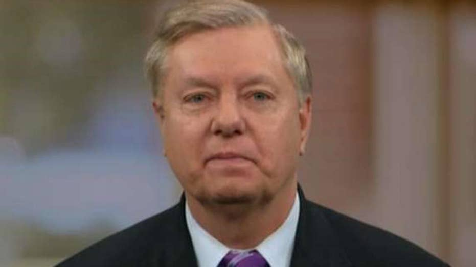 Sen. Graham talks new Russian sanctions, Syria strategy