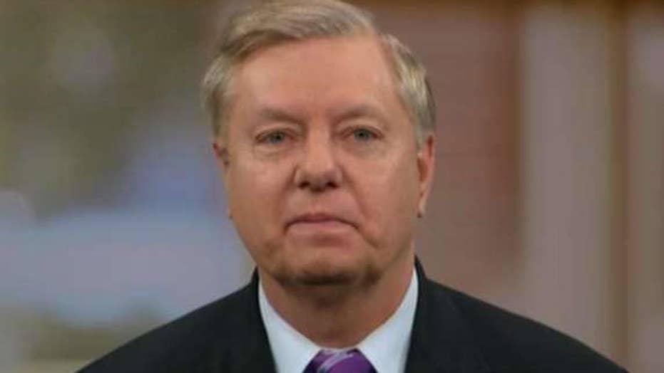 Sen. Graham talks new Russian sanctions, Syria strategy