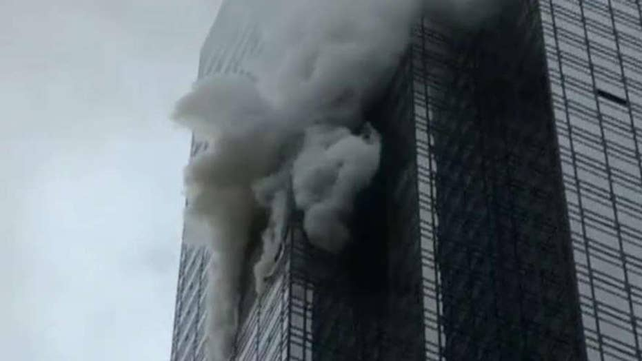 One dead, four injured in Trump Tower fire