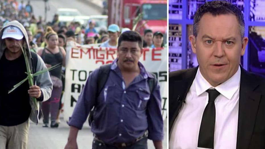 Gutfeld: The caravan hit a wall that is Donald Trump
