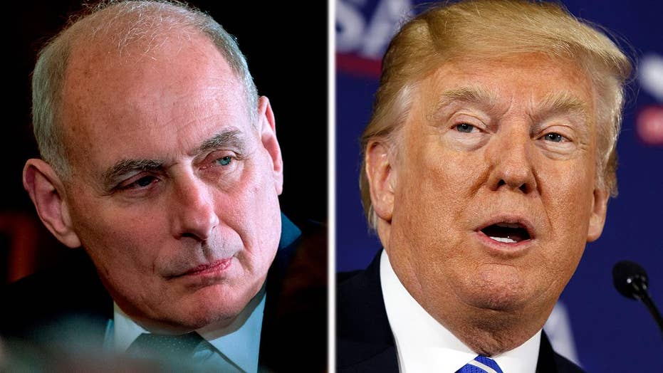 Trump rips 'hit job' on Kelly