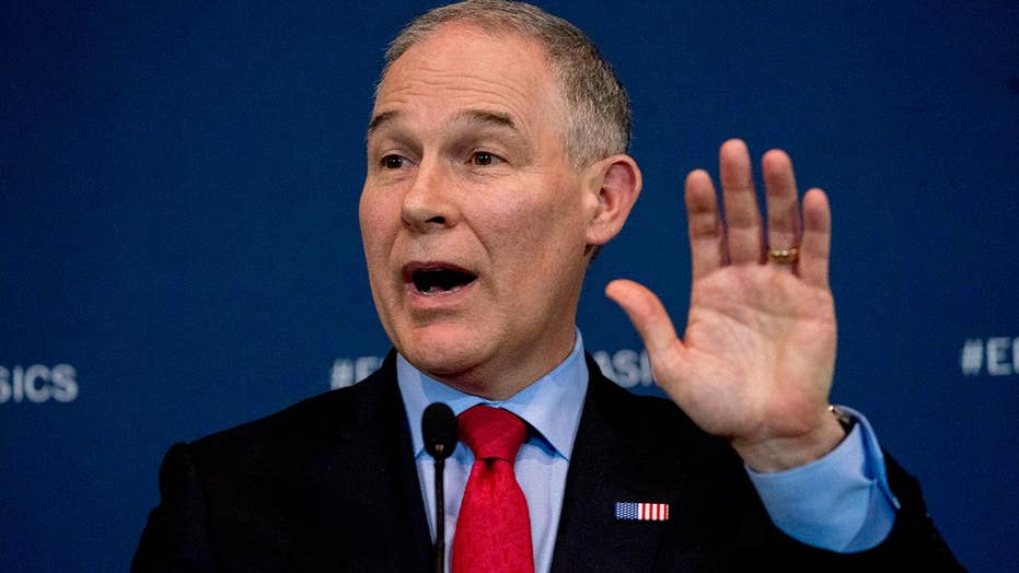 Trump stands by Pruitt amid calls for EPA chief to resign