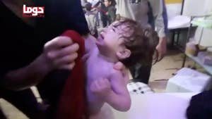 Bassam Rifai, political adviser at the Syrian American Council, says the U.S. needs to ground Assad's air force to prevent additional chemical weapon attacks on innocent civilians.