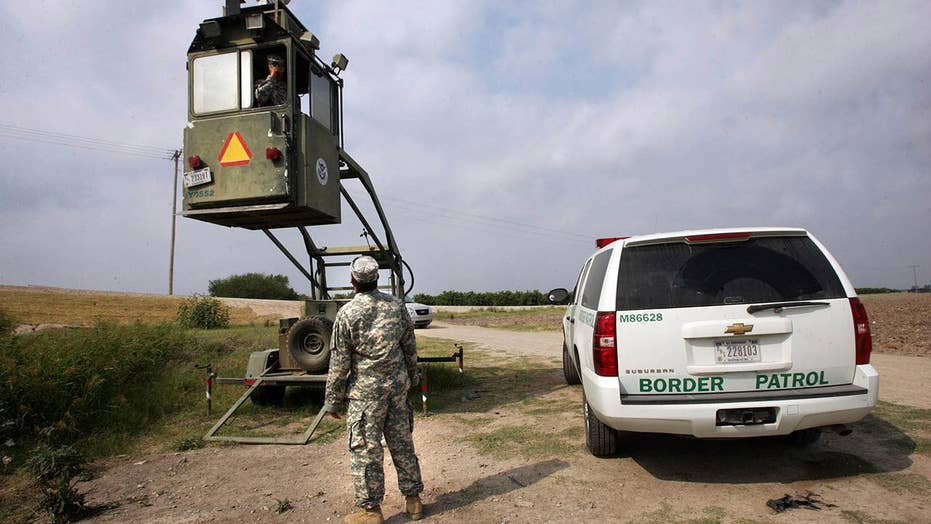 How the National Guard frees up resources for border agents