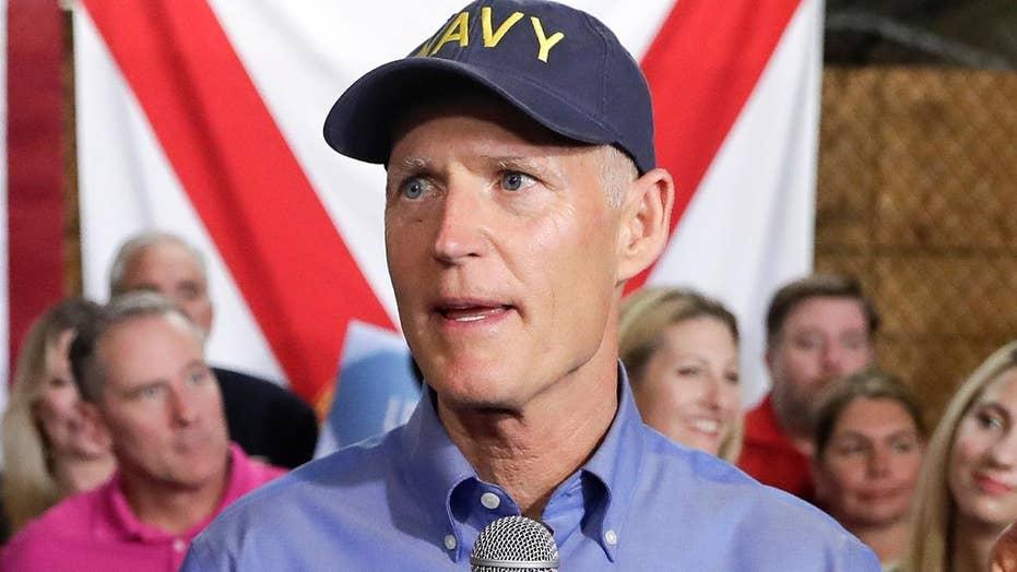Florida Governor Rick Scott declaring candidacy for Senate