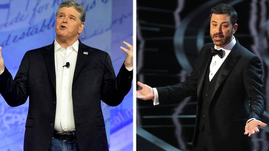Jimmy Kimmel 'apologizes' to Sean Hannity