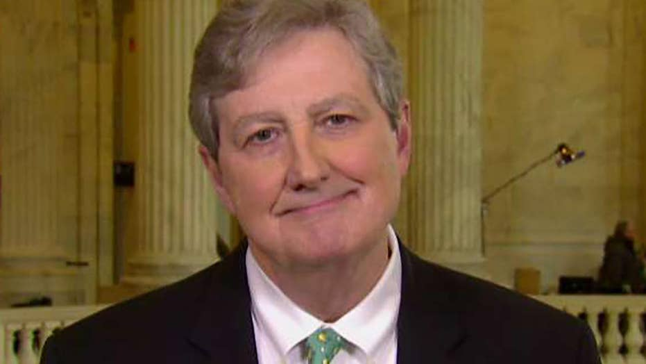 Sen. Kennedy: I will be glad when Mueller completes probe