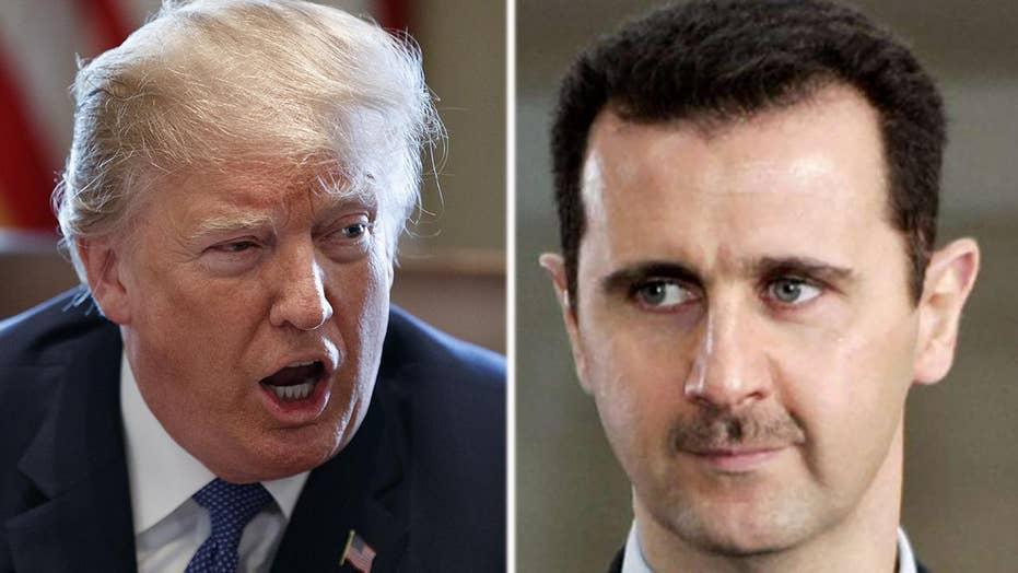 Will Trump authorize a retaliation against the Assad regime?
