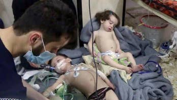 President outraged after dozens of Syrians killed in suspected chemical attack. Fox News' Doug Luzader reports on the latest.