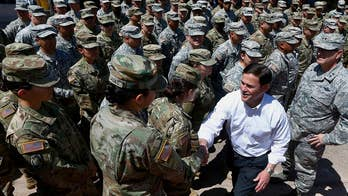 Arizona sends more National Guard troops to southern border. William La Jeunesse has more from Phoenix.