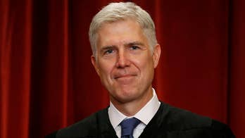 Justice Gorsuch to decide on big Supreme Court cases this year. Doug McKelway has more.