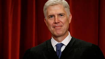 In roughly 60 votes thus far, Gorsuch has been closely aligned with Justice Clarence Thomas; Doug McKelway reports from Washington.