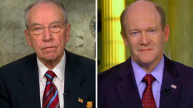Grassley and Coons on Zuckerberg's congressional testimony