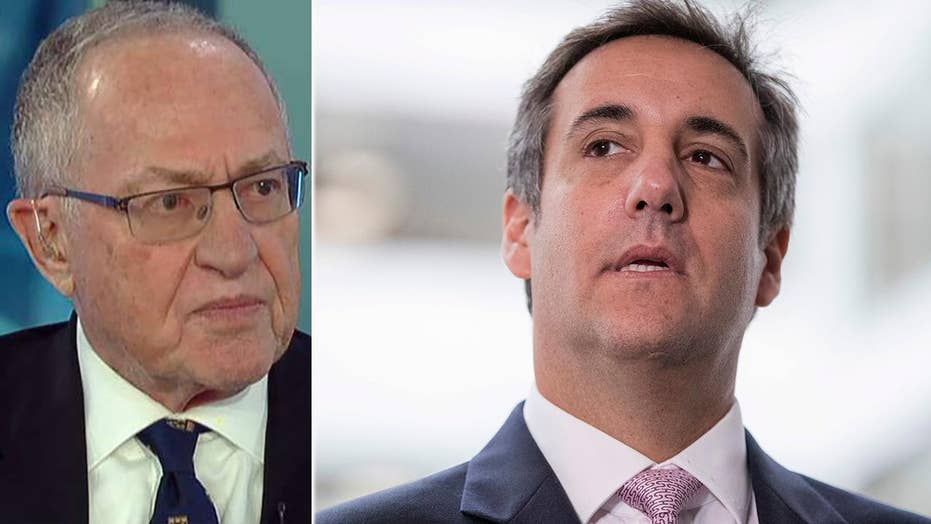 Alan Dershowitz on FBI raid on Michael Cohen's office