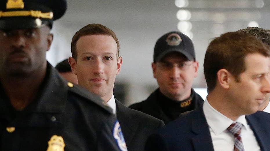 Mark Zuckerberg begins two days of testimony on Capitol Hill