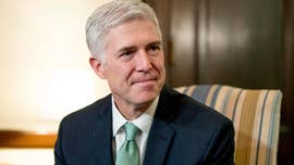 All eyes are on Justice Neil Gorsuch as a major constitutional challenge to one of President Trump's most controversial initiatives -- the so-called travel ban -- comes before the Supreme Court.