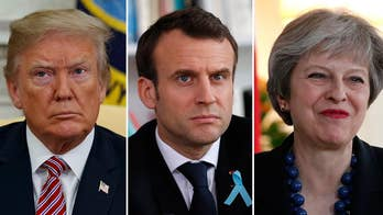 Trump, May and Macron call for action against Assad. Retired U.S. Army Gen. Anthony Tata provides insight on 'Fox & Friends First.'