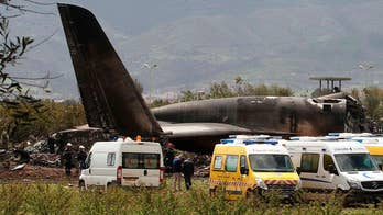 Aircraft carrying Algerian soldiers and their families reportedly crashes shortly after takeoff killing hundreds.