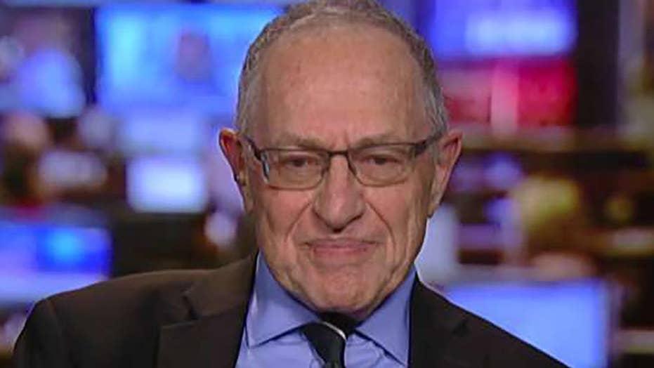 Alan Dershowitz on White House dinner, Cohen raid
