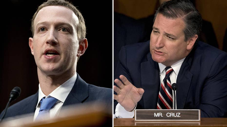 Cruz challenges Zuckerberg about silencing conservatives