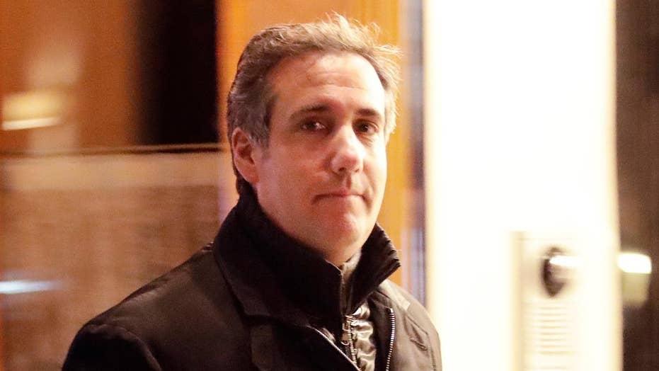 Why did the FBI raid Michael Cohen's office?
