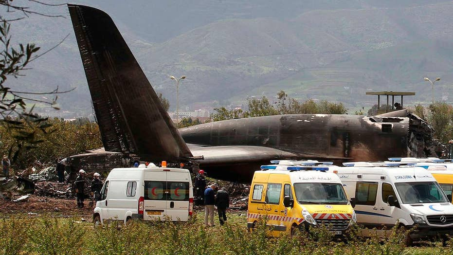 Hundreds dead in Algerian military plane crash