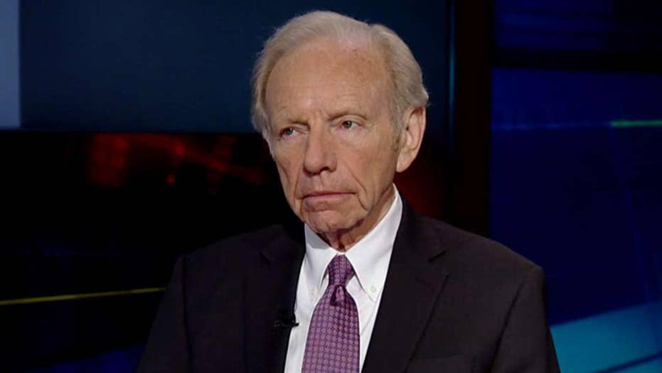 Lieberman: Not even the president is above the law