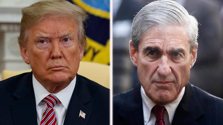 Trump takes to Twitter to blast Mueller probe