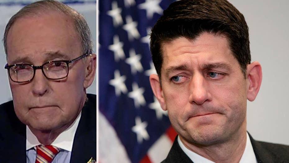 Larry Kudlow on Paul Ryan's retirement, trade with China