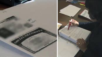 A county in Texas is trying a new way to help employers screen for illegal immigrants when going through the hiring process; Casey Stegall reports from Texas.
