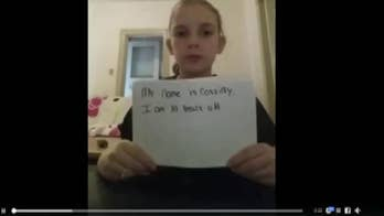 A 10-year-old girl posted a video to Facebook describing how she has been bullied since the first grade.  Now the video is going viral, sparking support across social media, including Hugh Jackman. Watch Cassidy's plea here.