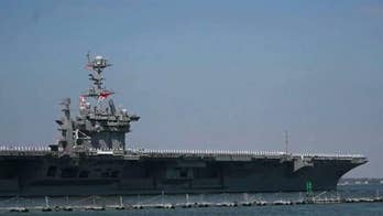 The USS Harry S. Truman, accompanied by seven U.S. warships, steams toward the Eastern Mediterranean; national security correspondent Jennifer Griffin reports from the Pentagon.