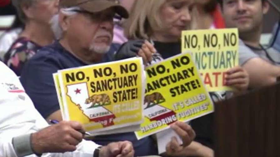 Newport Beach, California City Council unanimously voted to oppose the state's sanctuary law; Newport Beach Councilman Jeff Herdman has insight on 'Your World.'