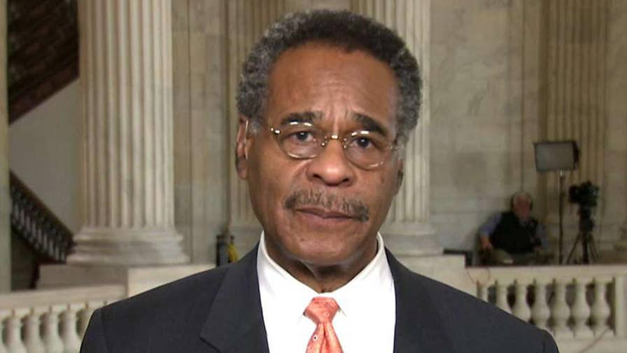 As Trump threatens a strike in Syria, Rep. Emmanuel Cleaver says that the War Powers Act should be re-examined and speaks out against 'undeclared wars.'