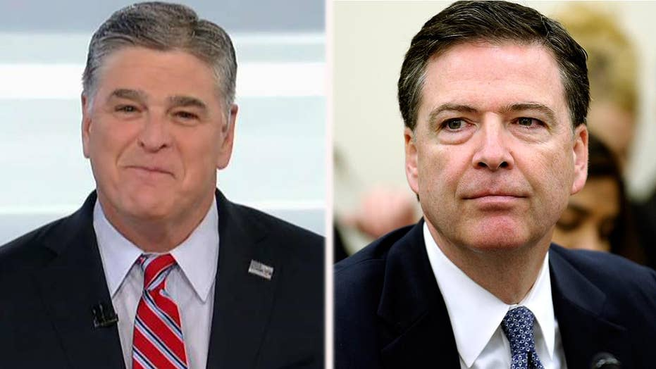 Hannity: Comey is ready to cash in on his hatred for Trump
