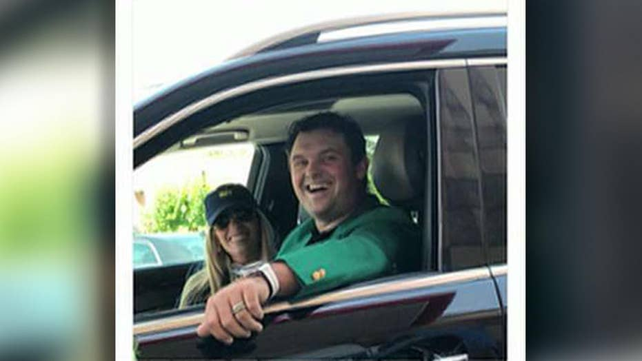 Masters champ pulls up to Chick-fil-A in green jacket