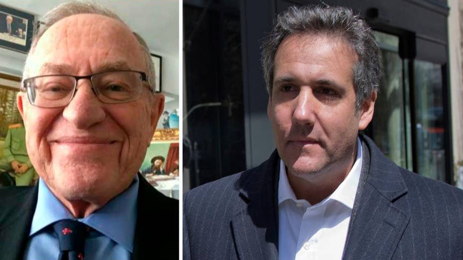 Alan Dershowitz: Michael Cohen raid was unjustified
