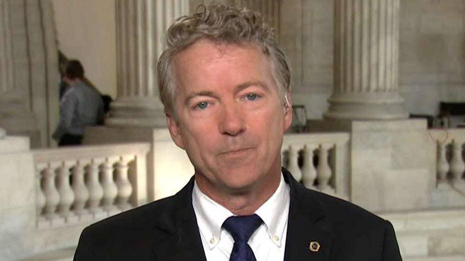 Sen. Rand Paul talks trade war, potential Syria strike