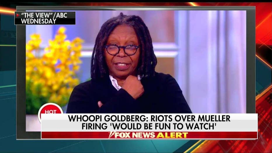 Whoopi Goldberg: Riots Over Mueller Firing 'Would Be Fun to Watch'