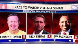 3 Republican candidates vying for Virginia Senate nomination