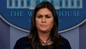 White House press secretary Sarah Sanders says pardon for Scooter Libby has nothing to do with the Mueller investigation.