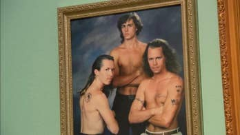 Curator of gallery in El Segundo, California describes the exhibit as '210 of the most uncomfortable, cringe-worthy family photos that you can imagine.'