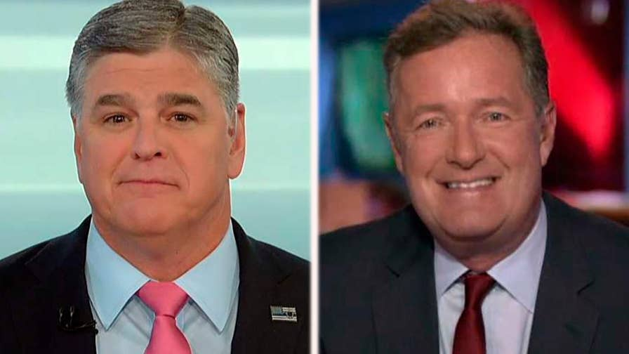 Details from James Comey's tell-all are leaked as the former FBI director embarks on a media tour; 'Good Morning Britain' host Piers Morgan reacts on 'Hannity.'