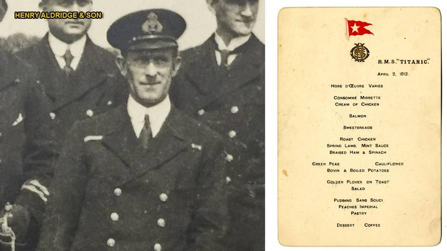 An extraordinarily rare copy of a lunch menu from the first meal served onboard the RMS Titanic is going up for auction later this month. It is one of just two known to exist and has a pre-sale estimate of $114,057-$142,572.